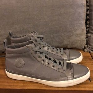 Polo canvas high tops gently used pre-loved